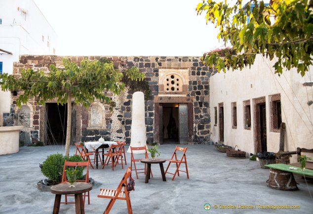 The welcoming Mythical Botanical Garden and Homeric Wine Cafe is a perfect place to relax and listen to music