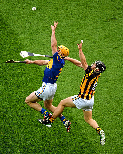 Hurling: the fastest field game in the world. (Image from visitdublin.com)