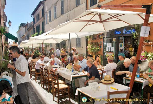 Castel Gandolfo Food