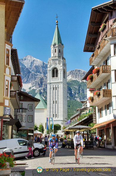 Cortina d'Ampezzo Bell Tower