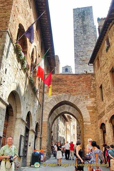 San Gimignano sightseeing