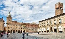Piazza Maggiore porticos