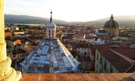 View from Pistoia's Bell Tower