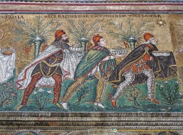 The Three Magi - Sant Apollinare Nuovo