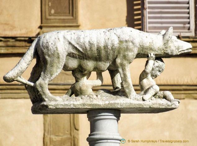 The She-wolf, symbol of Siena