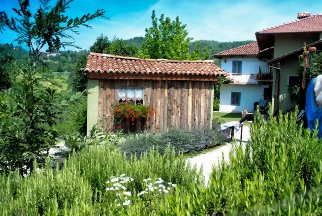 A fairy tale cottage where you sample Silvio's traditional cheeses