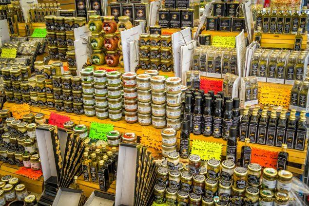 Campo de' Fiori truffle stall