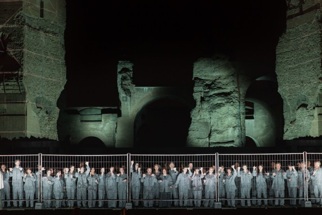 Nabucco at The Baths of Caracalla by Yasuko Kageyama