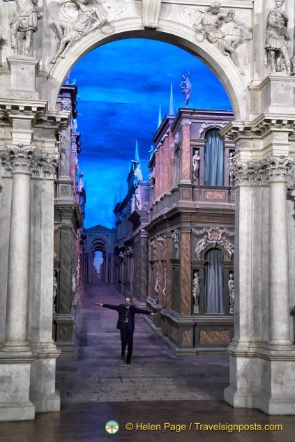 Teatro Olimpico Perspective View