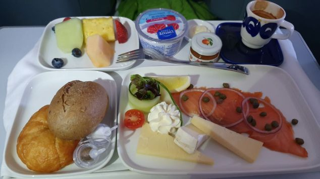 Finnair Breakfast