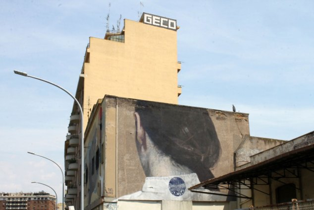 Ostiense District - Creating a pathway of street art - Photo Fabio Barilari