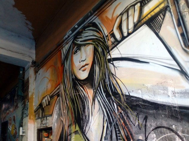 Ostiense District street art going from strength to strength - Photo Fabio Barilari