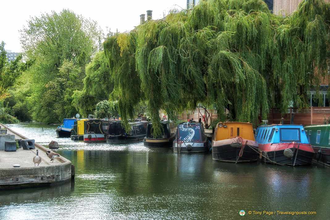 Regent's Canal - Popular for its Boating Holidays