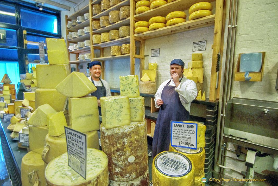 Neal's Yard - A Fabulous Cheese Shop in Borough Market