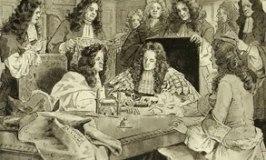 Sealing the Bank of England Charter 1694