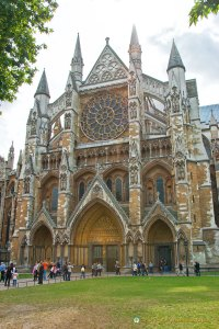 Westminster Abbey from Parliament Square