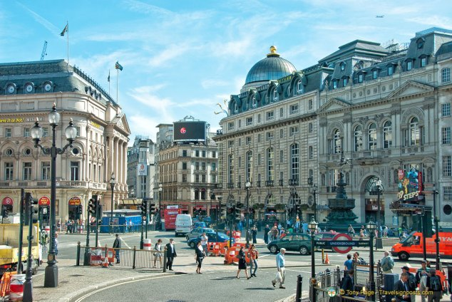 Piccadilly Circus from Regent Street