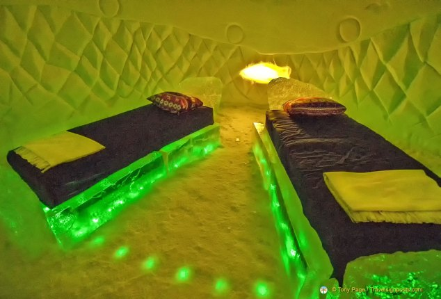 Kirkenes Snow Hotel Bedroom, Norway