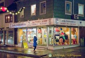 Tromso's Famous Sweater Shop