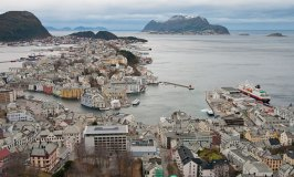 Visiting Alesund and Molde on our Norwegian Cruise