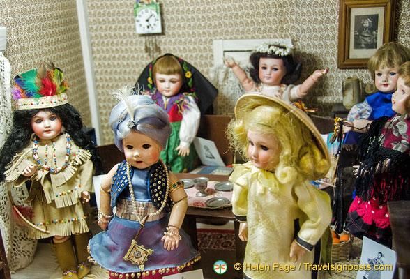 Paris dolls museum
