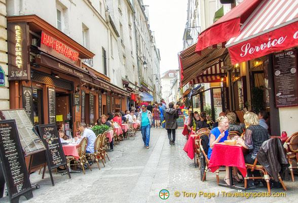 Restaurants Place Monge Paris