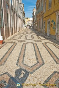Faro's Interesting Pedestrianised Street