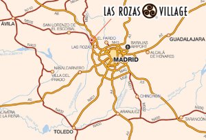 Directions to Las Rozas Village, Madrid