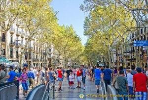 Las Ramblas - Barcelona