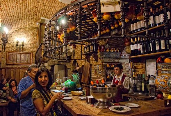 Food in Madrid