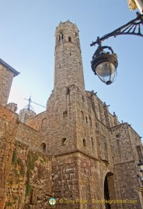 Barri Gotic Roman Tower