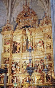 Capilla Real Main Altarpiece