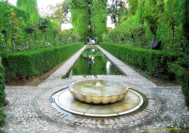 Generalife Palace and Gardens, Granada