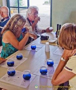 Olive Oil Tasting, Spain