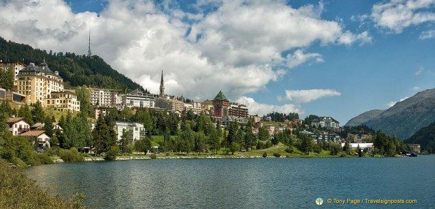St Moritz lake walk