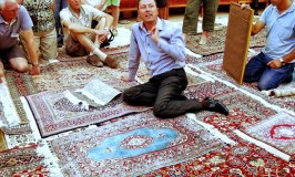 Visiting a Silk Carpet Factory in Turkey