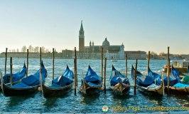 Venice Gondolas at San Marco