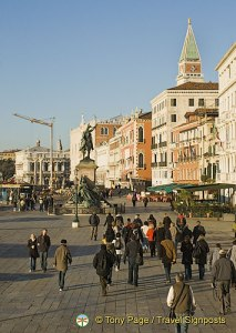 Walking in Venice