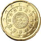 20 cent coin (back)