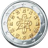 2 euro coin (back)