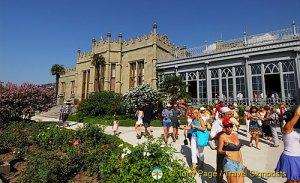 Alupka Palace, Yalta