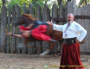 Cossack Horse Show, Zaporozhye