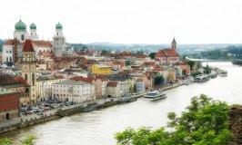 Passau river front