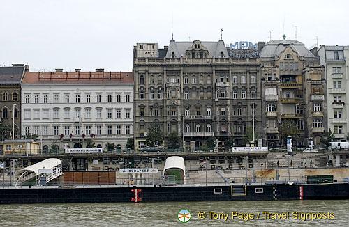Budapest Cruise Landing