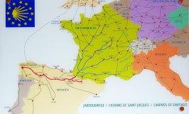 Camino de Santiago pilgrimage routes