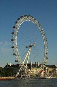 London's giant bicycle wheel