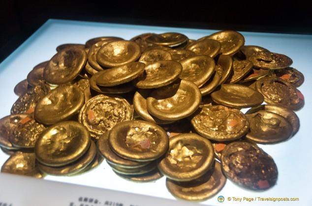Han Dynasty Gold Coins