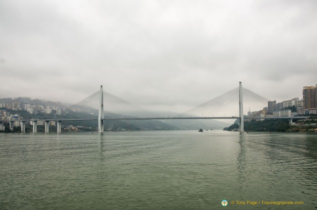 Badong Yangtze River Bridge