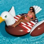 fourth july inflatable eagle travelsmart vip