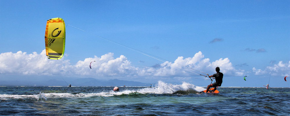 Water Activities DR kitesurfing TravelSmart VIP